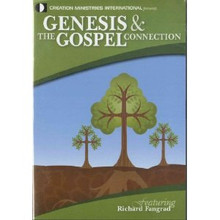 "Is there a connection between Creation and the Gospel and why does it matter? The account of Creation in Genesis is often considered a side issue in the Church and avoided at the risk of being too ""controversial"". After all, science supports evolution. Or does it?  In this illustrated DVD presentation, filmed in the Creation Magazine Live! studio, Richard Fangrad makes the connections between the central teachings of Christianity (Christ's death and resurrection) and Genesis, explaining why Jesus had to die and the significance for people today. But then he goes a step further by bringing in the origins debate and how a misinterpretation of Genesis quickly leads to the destruction of central Christian doctrines. He also briefly shows why the type of science that leads to advances in technology can never support evolution."