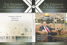With nearly 2 million copies printed and distributed in America and around the world, Tom Cantor tells you his unforgettable life story that will miraculously take you through His journey to knowing the Lord Jesus Christ as His Messiah and Savior. This 1 hour DVD testimony of Tom Cantor has reached many Jewish and Gentile lost souls for Christ from America to Israel and God has used it to change their eternal destiny.