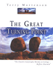 "The Great Turning Point: The Church's Catastrophic Mistake on Geology - Before Darwin  Many people in the Church today have the idea that ""young-earth"" creationism is a fairly recent invention, popularized by fundamentalist Christians in the mid-20th century. Is this view correct? In fact, scholar Terry Mortenson has done fascinating original research on this subject in England, and documents that several leading, pre-Darwin scholars and scientists, known as ""scriptural geologists"" did not believe in long ages for the earth. Mortenson sheds light on the following: Before Darwin, what did the Church believe about the age of the earth? Why did it believe this way? What was the controversy that rocked the Church in 19th-century England? Who were the ""scriptural geologists""? What influences did the Church contend with even before Darwin's book? What is the stance of the Church today?"