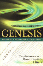 Coming To Grips With Genesis: Biblical Authority and the Age of the Earth  Fourteen different scholars address key topics related to the age of the earth, which is the crucial issue of debate in the church regarding origins (i.e., most old-earth proponents, like young-earth creationists, reject biological evolution). Bringing to bear rigorous scholarly biblical and theological arguments in favor of a young earth, they also address much needed discussion regarding a number of contemporary interpretations of the book of Genesis. A substantial historical, theological, and exegetical defense of the biblical account of Creation, the book is designed for seminary and Bible college professors and students, ministers, missionaries, and others in ministry work.  Chapters in the book include:      Forewords by Dr. John MacArthur, President of The Master's Seminary and Senior Pastor of Grace Community Church, Sun Valley, CA; and the late Dr. Henry Morris, Founder and President Emeritus, Institute for Creation Research     Detailed statistical analysis of the verbs of Genesis     A study of Genesis 5 & 11 genealogies as strict chronology     A critique of the Intelligent Design movement     Jesus' words and teachings – do they address the issue of a young earth?