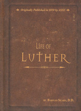 Originally published in 1850, this reprinted edition of Barnas Sears' Life of Luther is a comprehensive look at the life of the Protestant reformer. Chronologically arranged with chapters devoted to important events such as the Diet of Worms, this biography focuses upon his youth and life's story; this is also the first English version to integrate Luther's letters and correspondence. Bound in a small 5 x 8 compact size, the retained original typeset and spackled edges provide a vintage feel. 496 pages, hardcover.