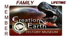 Lifetime Family Membership to the Creation & Earth History Museum