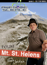 Explore Mount St. Helens with Noah Justice (Awesome Science Episode 5) will take children and teens to the scene of one of the largest landslides and volcanic eruptions in America. This episode will teach viewers why observable events help us understand the catastrophic Great Flood; the impact of rapid erosion, coal formation, and quick biologic recovery; and how canyons, stratified layers, and petrified forests formed quickly.  Traveling is even better when you discover the evidence of biblical history and truth along the way. Hosted by 14-year-old homeschooler Noah Justice, his fresh approach to science and the Bible will get children more excited about the truth with each episode of Awesome Science. 30 minutes on DVD. Kids & Teens.  DVD Region1 DVD Playable in Bermuda, Canada, United States and U.S. territories. Please check if your equipment can play DVDs coded for this region.