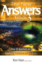 "You have more questions, and Ken Ham and his team at Answers in Genesis have come up with just as many answers! 35 questions range from the Garden of Eden to anthropogenic Global Warming, Abortion, Cloning & Stem Cells, Eugenics & Planned Parenthood, Astronomy & a Young Universe, and more. Written by an ""expert"" in the field, these short articles are informative, concise, and present a biblical exegesis of highly contested parts of scripture. Each page supports a creationist reading of the first eleven chapters of Genesis, and the scientific evidence is written in layman's terms. Learn how to defend your view of Genesis as literal history, as well as the reasons for some of your conservative values. 381 indexed pages, softcover."