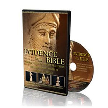 Evidence for the Bible DVD Join Dr. Ed Hindson as he explores the ancient artifacts and the archaeology of the Near East displayed in the Creation & Earth History Museum in Santee, California. As you take a walk into Biblical history each artifact is masterfully presented in high definition and explained with careful detail. The Ancient Civilizations of the past will be revealed through this inspiring 45 minute video, so prepare to take a walk through time.  Narrated by Jerry Langford