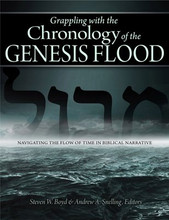Grappling with the Chronology of the Genesis Flood: Navigating the Flow of Time in Biblical Narrative  Understand this highly debated flashpoint for scientific debate, academic criticism, and common confusion with this unique presentation.  Delve into the technical aspects of the chronology, historicity, and significance of understanding this landmark event, including what we can learn from the Hebrew words used to describe it. Examine the numerous geological, geophysical, and paleontological indications pointing to the reality and global scope of the Flood.  Learn how and why the authors' exhaustive research began, putting forth objectives, criticisms they would address, and identifying obstacles to be resolved.  The Flood as described in the Book of Genesis not only shaped the global landscape, it is an event that literally forms our understanding of early biblical history. Now an experienced team of scientists and theologians has written a definitive account of the Genesis Flood with detailed research into the original biblical text and evidences unlocked by modern science and study.  Often recounted and discounted as just a myth or children's story, what we find with deeper study is instead a cataclysmic event, one that truly wiped out life on our planet with the exception of those preserved through God's plan. The devastation the Genesis Flood wreaked upon a rebellious world remains an important part of the biblical narrative we should understand for what it was - a divine act of judgment on a sin-immersed world.  Steven W. Boyd & Andrew A. Snelling