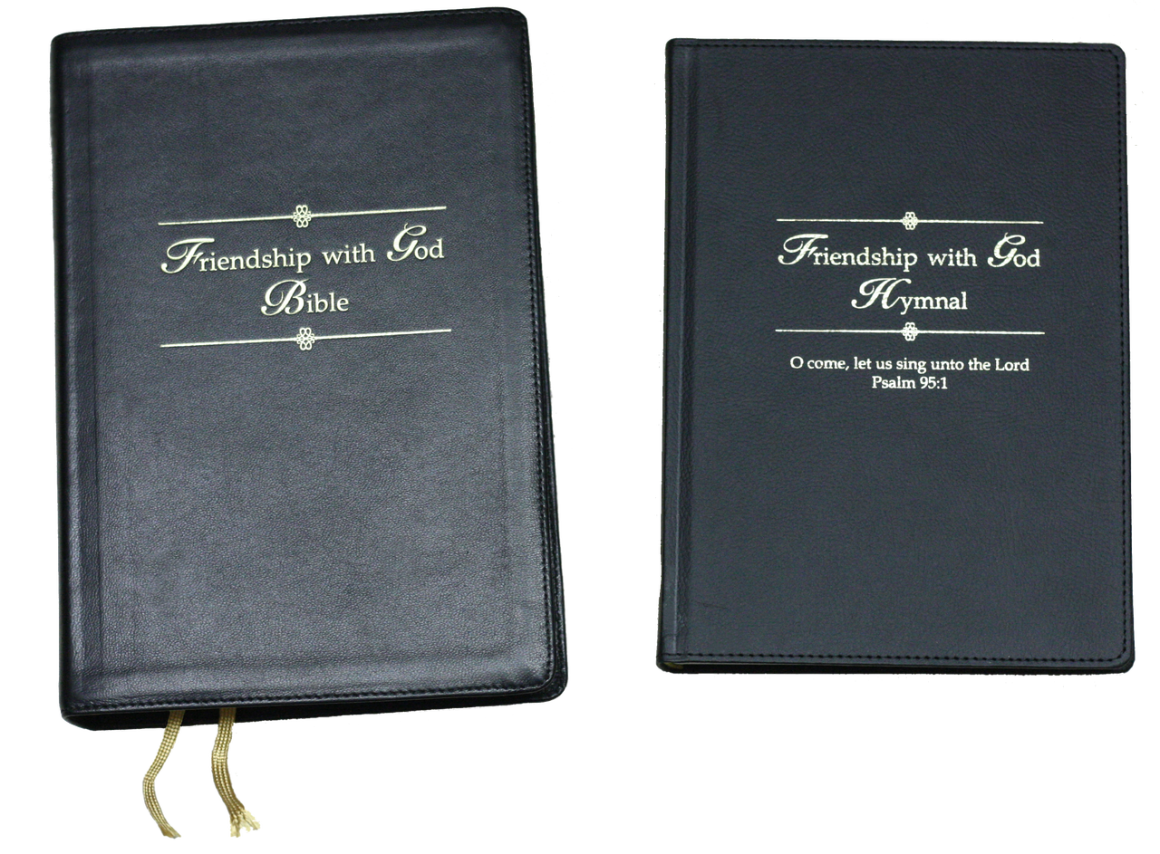 Friendship With God KJV Bible with FREE Hymnal