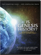 Is Genesis History? is a comprehensive documentary featuring over a dozen scientists and scholars looking at the world and explaining how it intersects with the history recorded in Genesis. From rock layers to fossils to lions to stars, this fascinating film will challenge and change the way you see the world. Is Genesis History? shines new light on our origins, providing a positive argument for Biblical Creation and the Flood. Dr. Del Tackett, creator of The Truth Project, serves as your guide—hiking through canyons, climbing up mountains, and diving below the sea—in an exploration of two competing views ... one compelling truth. Includes English and Spanish subtitles. Approx. 101 minutes.  Bonus Features:  Q&A with Del Tackett & Scientists The Ice Age & Climate Change: Larry Vardiman, PhD Engineering the Universe: Stuart Burgess, PhD The Church and Creation - Douglas Kelly, PhD Meet the Scientists, Del Tackett, Production Company