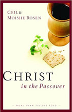 Bitter herbs, salty water, a sweet apple mixture, the shankbone of a lamb—what is the meaning behind these symbolic elements?  Enter the celebration of Passover, rich with history and significance for both Jew and Gentile. God wasn't finished working in the lives of His people after the waters of the Red Sea parted. Both past and future deliverance are celebrated in this solemn and joyful feast.  Through Christ in the Passover, you'll trace God's involvement through the history of this holy day—from the first Passover all the way to the modern Seder. And in the revised edition of this inviting book, Ciel and Moishe Rosen show you how the death and resurrection of Jesus the Messiah are forever interwoven with the Passover and its symbolism.