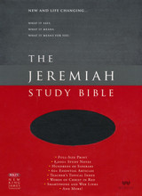 Drawn from more than 40 years of study, Dr. David Jeremiah, has produced a deeply personal and comprehensive study Bible packed with features specifically focused to help you discover what Scripture says, what Scripture means and, most importantly, what Scripture means for you. The Jeremiah Study Bible presents the best of biblical insight and study tools along with clear, practical application to bring about authentic transformation in your life.