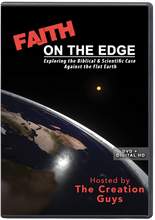 Faith On The Edge: Exploring the Biblical & Scientific Case Against the Flat Earth.     Join The Creation Guys, Kyle Justice and Pat Roy as they talk to experts and perform real-life experiments -- including a weather balloon carrying a 360 degree camera 22.75 miles up into the atmosphere!   There's a new wave of Christians converting to a belief in the flat earth, and it's having a serious impact on our world.  Are you equipped to give Biblical and scientific answers to questions that will inevitably come from family and friends?