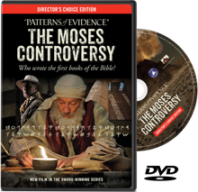 Patterns of Evidence: The Moses Controversy Who wrote the first books of the Bible?    Director's Choice Edition  Did Moses write the first books of the Bible? Many mainstream scholars say NO! But the bible states Yes! Award-winning filmmaker Timothy Mahoney (Patterns of Evidence: The Exodus) is back again, bringing new evidence to light in his latest documentary: Patterns of Evidence: The Moses Controversy.  What Mahoney's investigation leads to is the groundbreaking discovery that the world's first alphabet actually originated in Egypt. Did the Israelites invent this alphabet in tome for Moses to write the Bible?