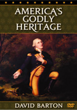 From David Barton of Wall Builders  America's Godly Heritage clearly sets forth the beliefs of many of the famous Founding Fathers concerning the proper role of Christian principles in education, in government, and in the public affairs of the nation. The beliefs of Founders George Washington, John Adams, John Jay, Thomas Jefferson, James Wilson, George Mason, John Quincy Adams, and many others are clearly presented.  America's Godly Heritage also provides excerpts from court cases showing that for 160 years, Christian principles were part of official American public life. This DVD, and the book by the same title, graphically display statistics showing what has happened to America since the courts have begun rejecting the Founders' beliefs.  This DVD is an excellent primer for those who want to know more about what was intended for America by the Founders and what can be done to return America to its original guiding philosophy. It's ideal to share with home gatherings, church groups, and Sunday School classes, or to use as a history supplement for children or schools.  DVD. 95 minutes. NEW, updated version.