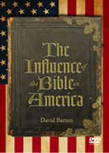 From David Barton of WallBuilders  The Bible's profound influence on America, widely understood by previous generations, is largely unrecognized today. For years, Americans saw the Bible as a practical guidebook for directing every aspect of daily life, and it therefore shaped American government, law, and education as well as our free enterprise system, our views of private property, our social services, and so much more. This inspiring video presentation documents the dramatic impact of the Bible on American life and culture over the past four centuries.  DVD. 90 minutes. Closed Captioned.