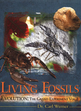 "The fossil record is perceived as one of the greatest proofs for the theory of evolution. Dr. Carl Werner reviewed thousands of fossils from the dinosaur era, and compared them to the animals and plants of today with the view that while some animals (like dinosaurs and flying reptiles) have gone extinct, others have remained substantially the same for thousands of years. In attempting to come up with an experiment to test evolution, he decided that if evolution predicted animals and plants changed dramatically over time, he would take the opposite approach; that if evolution was not true, then animals and plants would NOT change significantly over time and he would find fossils of modern species in the ""older"" layers. Arranged by classification, chapters cover evidences for and against evolution, snails, fish, arthropods, mammals, and more. Filled with over 700 photographs of fossils and their modern companions! 273 indexed pages, hardcover."