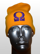 Gold Omega Winter Hat