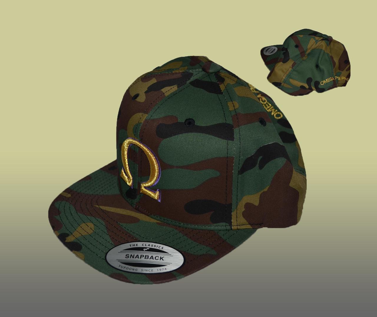 Omega Psi Phi Camo Hat