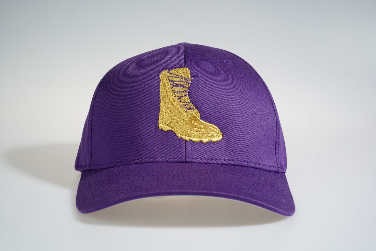 Omega Psi Phi Boot Fitted Cap
