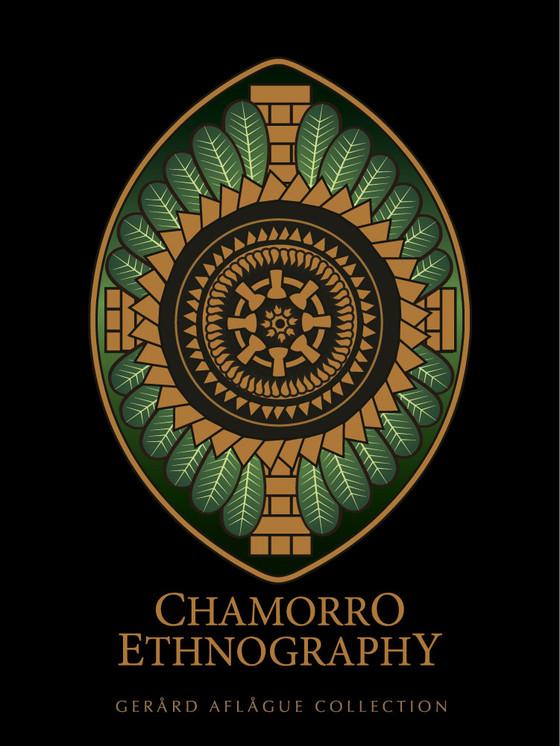 Symbolic Chamorro Cultural Fine Art Poster Illustration