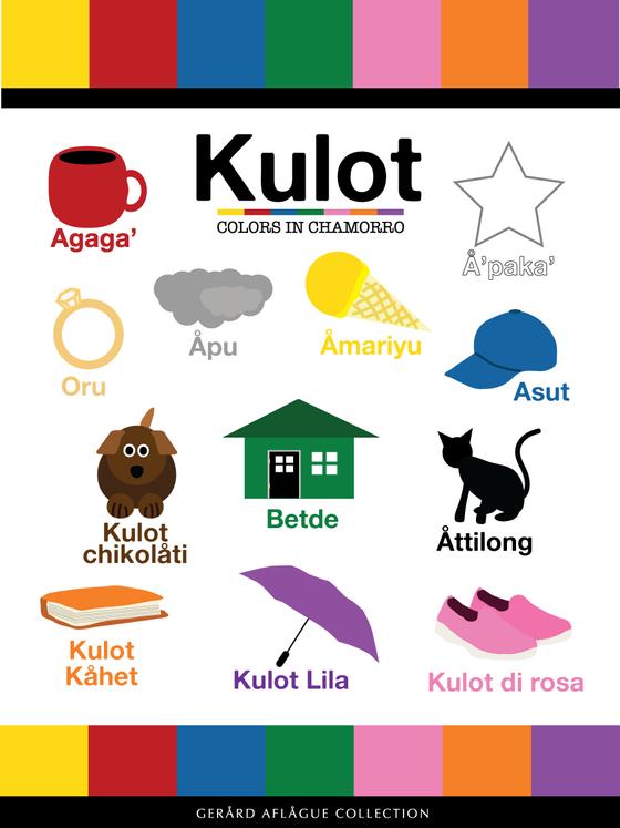 Kulot Chamorro Colors Fine Art Illustration Gerard