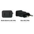 North America US to Euro EU Power Adapter Plug