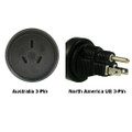 Australia to North America US 3-pin Power Adapter Plug