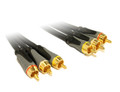 0.5M High Grade RCA A/V Cable with OFC