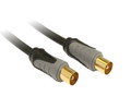 10M TV Antenna Cable OFC 24K Gold-plated