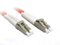 0.5M LC-LC OM1 Multimode Duplex Fibre Optic Cable
