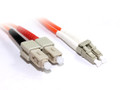 0.5M LC-SC OM1 Multimode Duplex Fibre Optic Cable