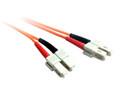 0.5M SC-SC OM1 Multimode Duplex Fibre Optic Cable