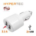 HYPERTEC USB Dual Car Charger