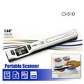 Digitalk Portable Handheld A4 1050dpi Photo & Document Scanner (CI-510)