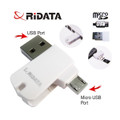 Ridata OTG Mobile Phone MicroSD Card Reader (OTG Mobile Phone/Tablet/PC)