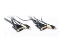 1.8M DVI USB Audio KVM Cable Set