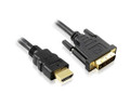 1M HDMI to DVI-D Cable