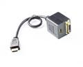 25CM HDMI to HDMI & DVI Splitter Cable