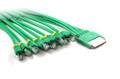 3M HPC68M To 8 X RJ45 Plug Cable