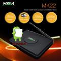 RKM MK22 Octa Core 64bit 4K Android 6.0 mini PC 2G/16G,Dual band wifi, BT4.0