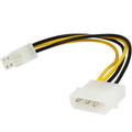 Internal Power Molex Cable 20cm - 4 pins to 8 pins ATX EPS 12V Motherboard Power