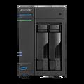 ASUSTOR AS6202T 2-Bay NAS, Quad-Core, 4GB DDR3L, GbE, USB 3.0, eSATA, HDMI, WoL, AES-NI, Lockable Tray
