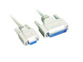 5M Serial Printer Cable for Receipt Printers ( Null Modem )