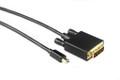 0.5M Mini Displayport to DVI-D Cable