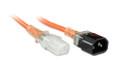 0.5M IEC C13-C14 Medical Power Cord