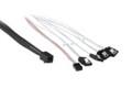 75CM Mini SAS HD to 4 x SATA Cable with Side Band