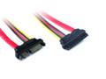 30CM SATA3 Data/Power Extension Cable