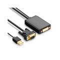Active VGA ( Source ) to DVI-D Digital Port Converter