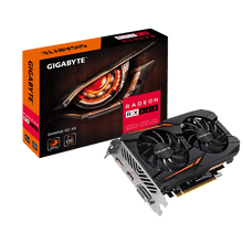 Gigabyte AMD Radeon RX560 GAMING OC 4GB DDR5 PCIe Video Card 8K 7680x4320 3xDisplays DVI HDM DP 1300/1287 MHz Windforce 2X CrossFire Eyefinity FreeSyn