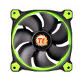 Thermaltake 140mm Case FanRiing 14 Green LED 1400RPM Fan