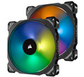 Corsair 140mm Case Fan 4pin PWM Premium Magnetic Levitation RGB LED (ML140 PRO RGB Twin)